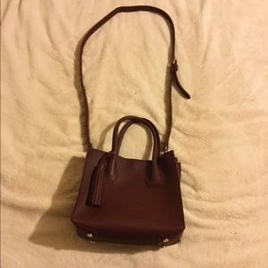 Forever 21 Bags - Burgundy satchel purse